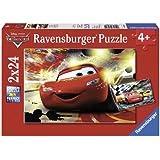 Ravensburger 08961 - Disney Cars: Großer Auftritt - 2 x 24 Teile Puzzle