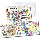 Verbetena - 6 invitaciones Sweet Party con sobre (012450001)