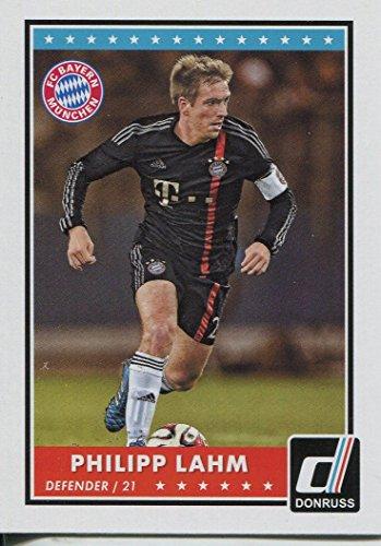 Donruss Soccer 2015 Base Card#44 Philipp Lahm Y