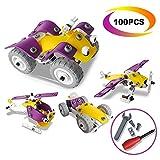Best Cadeaux d'anniversaire pour LEGO 3 ans filles - Jeux de Construction,CARLORBO 100 Pièces Jouets de 3D Review