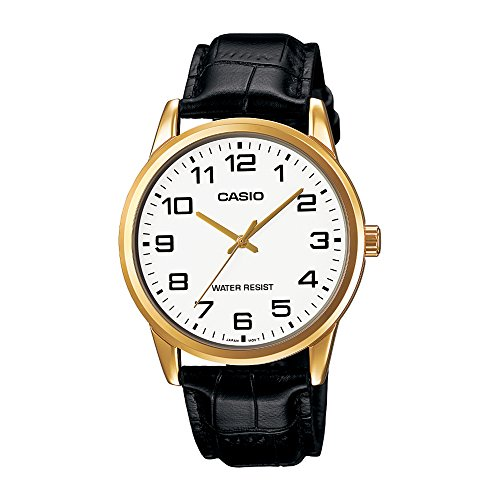 Casio Enticer Analog White Dial Men's Watch-A1085 (MTP-V001GL-7BUDF)