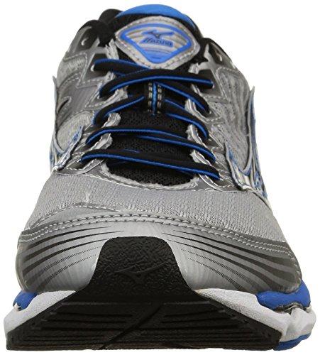 Mizuno Wave Paradox 2, Scarpe sportive, Uomo Alloy/Black/Electricbluelemonade