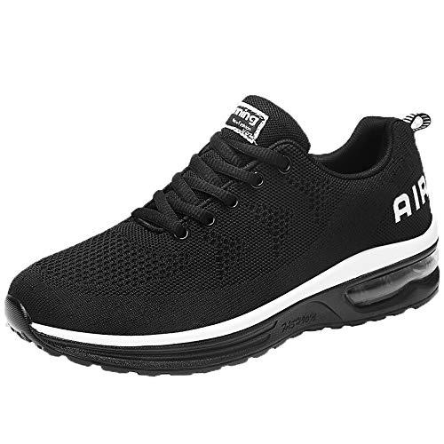 UFODB Running Shoes Men Women Unisex Männer Laufsport Schuhe Casual Sports Air Trainers Fitness Jogging Fitness Flats Lightweight Gym Athletic Sneakers