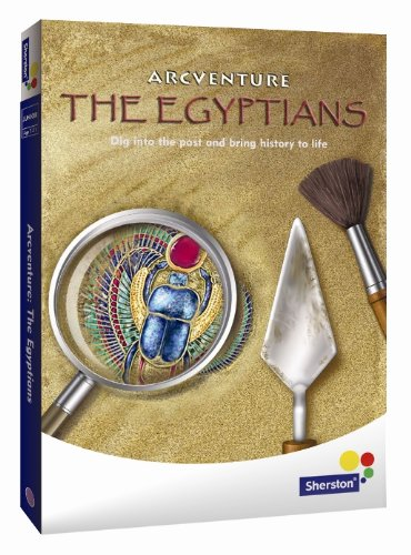 arcventure-the-egyptians-junior-history-adventure-cd-rom-from-sherston-for-ages-7-to-11-home-user