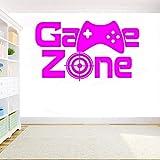 Jeu Autocollant Mural Vinyle Zone De Jeu Xbox Mangez Sommeil Contrôleur De Jeu Vidéo DIY Sticker Mural pour Enfants Chambre Décoration ww-4 96x57cm