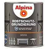Alpina Rostschutz-Grundierung weiss 750 ml für Innen & Außen