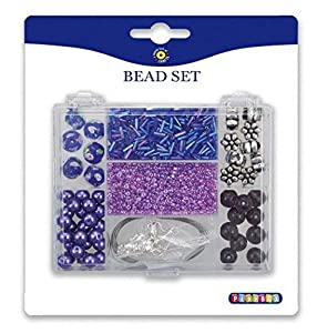 Playbox - Beads Purple Mix en Rectangular Caja de Almacenamiento - (PBX2471141)
