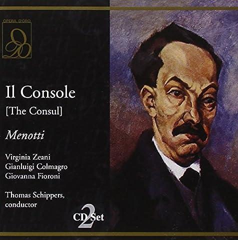 Menotti : Il Console. Zeani, Colmagro,