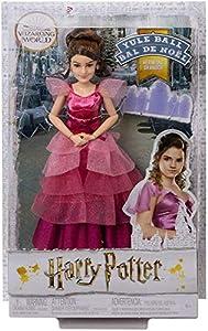 Harry Potter Muñeca Hermione Granger Baile de navidad de Harry Potter con accesorios (Mattel GFG14)