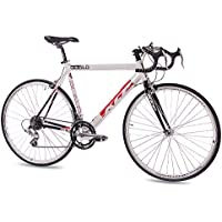 KCP - Bicicleta de carretera ( de carreras, 56 cm, 14 velocidades ), color negro