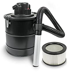 Aschesauger Kaminsauger mit Motor 1200W Kaminreiniger Aschestaubsauger Rußsauger Asche Sauger Hepa Filter HEPA (Aschesauger mit Filter)
