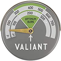 Valiant Magnetic Stove Thermometer, Aluminum, Green, 63mm 8