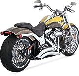 Vance & Hines Auspuffanlagen Big Radius Chrom Harley Davidson Softail 2013-2015
