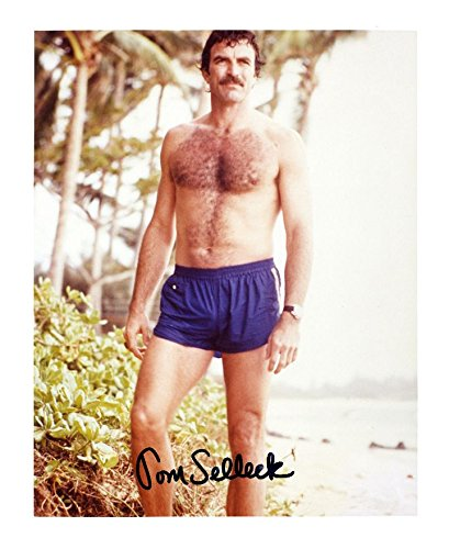 Tom Selleck Autographed Signed A4 21cm x 29.7cm Photo Poster