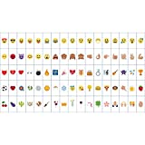 AGM DIY Emoji Lettere Numeri Simboli Decorativi(85pcs) Multi-color per LED Box(Non include led box)