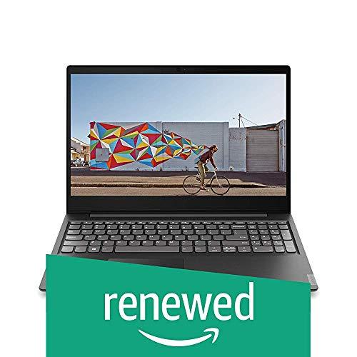(Renewed) Lenovo Ideapad S145 Pentium Gold 5405U 15.6 inch HD Thin and Light Laptop ( 4GB RAM / 1 TB HDD / DOS / Black / 1.8 Kg), 81MV00LXIN