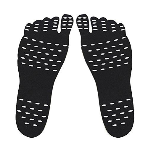 ROSENICE Plantillas Adhesivas Playa Zapatos Pies Descalzos