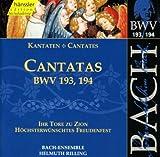 Ihr Tore zu Zion, BWV 193: Recitative: O Leipziger Jerusalem (Alto)