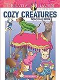 Creative Haven Cozy Creatures Coloring Book (Adult Coloring) (Creative Haven Coloring Book)