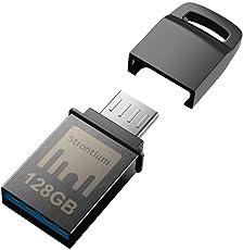 Strontium Nitro128Gb One OTG 3.1 150 MBPS (Grey)