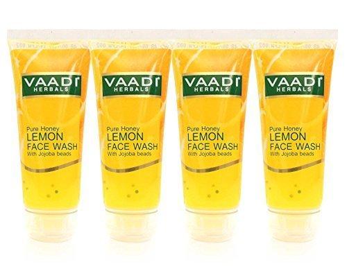 vaadi Herbals Herbal Gesichtsreiniger (Face Wash) 20,6FL. OZ Aromatherapie Face Wash aus Essential Öl-(Combo Pack) - Akne Purifying Gel Cleanser
