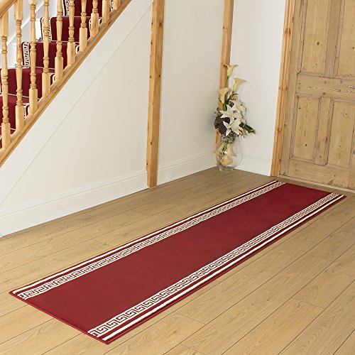 Key Red - Long Hall & Stair Carpet Runner