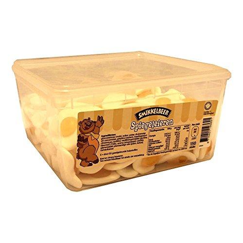 Smikkelbeer Spiegeleieren 150 Stck. Box (Fruchtgummi Spiegeleier)