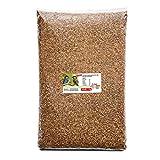 Paul´s Mühle Mehlwürmer getrocknet, Proteinreiche Würmer für Hühner, Igel, Hamster,...