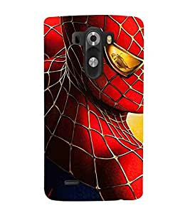 Cartoon, Black, Cartoon and Animation, Printed Designer Back Case Cover for LG G3 :: LG G3 Dual LTE :: LG G3 D855 D850 D851 D852