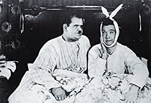 Laurel and Hardy Poster as seen in Joey and Chandler's Apartment on Friends TV Show (91cm x 61cm)