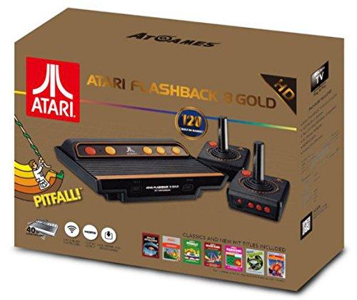 Console Retro Atari Flashback 8 + 120 jeux Édition gold 2017-2018