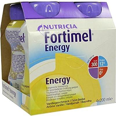 Fortimel Energy Vanillegeschmack, 8X4X200 ml