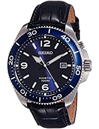 Seiko Dress Analog Blue Dial Men's Watch - SKA745P2