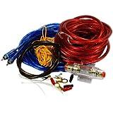 Kit de Câblage Amplificateur de voiture / AMP Câblage Fusible Audio du Sonore Câbles RCA 800W