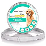 WOLFWILL Wolfwell 2018 Plus Dog Antiparasitic Collars - 66 cm Flea and Tick Collars for Small Medium Large Dogs (10 Month Protection & Prevention)