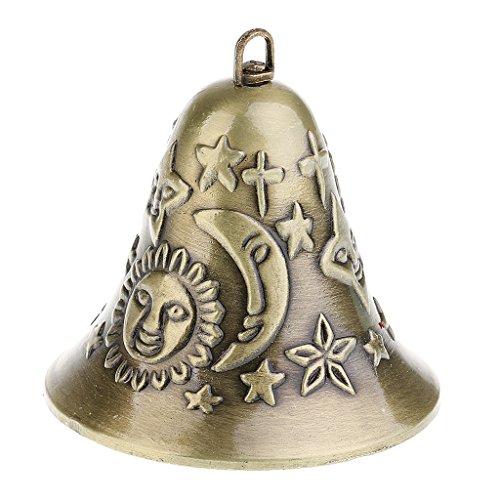 Sharplace Traditionnel Clochette Vent Carillon Feng Shui Chinois Décoration pour Voiture Maison Fenêtre Jardin