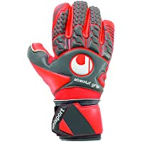 UHLSPORT - AERORED ABSOLUTGRIP FINGER SURROUND - Gant gardien football - Mousse Absolutgrip - Coupe FingerSurround - Homme