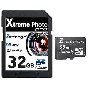 Micro SD 32GB Classe 10SD SDHC ad alta velocità Zectron scheda di memoria per fotocamera digitale ge A730, A735, A830, A835, A950, A955Z, A1030, A1035, A1050, A1150, A1230, A1235, A1250, A1255, A1454, C1033, C1233, D1030, E840s, E850, E1030, E1035, E1040, E1045W, E1050TW, E1055W, E1100, E1235, E1240, E1250TW, e1255W, E1276W, E1480W Dispositivo, E1486TW, G1, G2, G3, G3WP, G5, G5WP, H855,–H1055, H1200, J1050, J1250Dispositivo, J1455, K1030, Q1455, W1000, W1200, wm1050, X3, X-3, X5, X-5