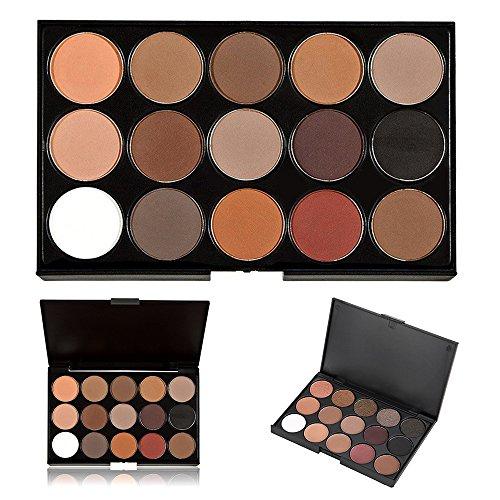 15 Farbe Lidschatten-Palette, kühne und helle Sammlung, lebendig, KRABICE Lidschatten Augenschatten Palette Make-up Kit Set (15 Lidschatten-Palette)#5 (Kim Kardashian Make-up-kit)