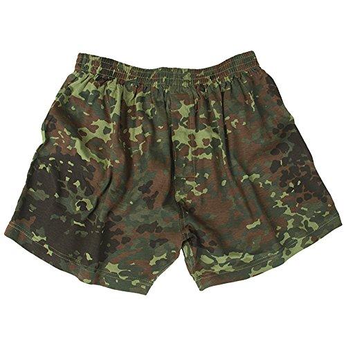 Mil-Tec Boxer Shorts Flecktarn Größe L (Shorts Boxer Military)
