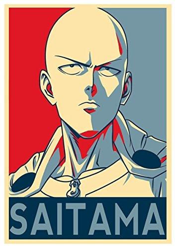"Poster One Punch Man ""Propaganda"" Saitama - A3 (42x30 cm)"