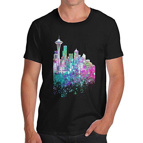 TWISTED ENVY Herren T-Shirt Schwarz