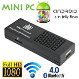 8GB Android 4.1.1 Mini PC Smart TV Box Spieler Dual Core 1,6GHz HDMI Bluetooth