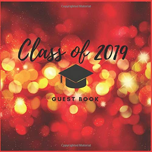 Zoom IMG-2 class of 2019 guest book