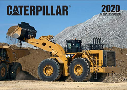 Caterpillar 2020: 16-Month Calendar - September 2020 through December 2020