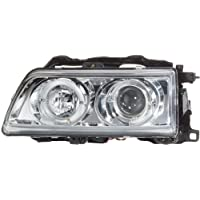 FK Automotive FKFS8037 Faros Delanteros, Color Cromo