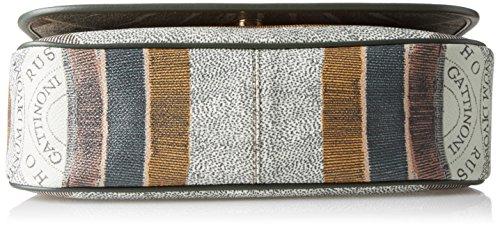 Gattinoni Gplb031, Borsa a Tracolla Donna, 9x20x30 cm (W x H x L) Verde (Balsam)