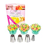 Cake Decorating Icing Piping Nozzles - A Bundle of 4 Cute Nozzles