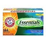 ARM & Hammer 3320000102fogli asciugatrice Essentials, mountain Rain, scatola da 144fogli (di 6scatole)