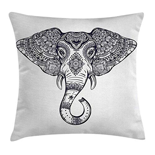 Casinò e attrezzature WITHY Elephant Runs in Front of The Animal Fashionable Outdoor Hundred Change Headscarf Original Multifunctional Headwear